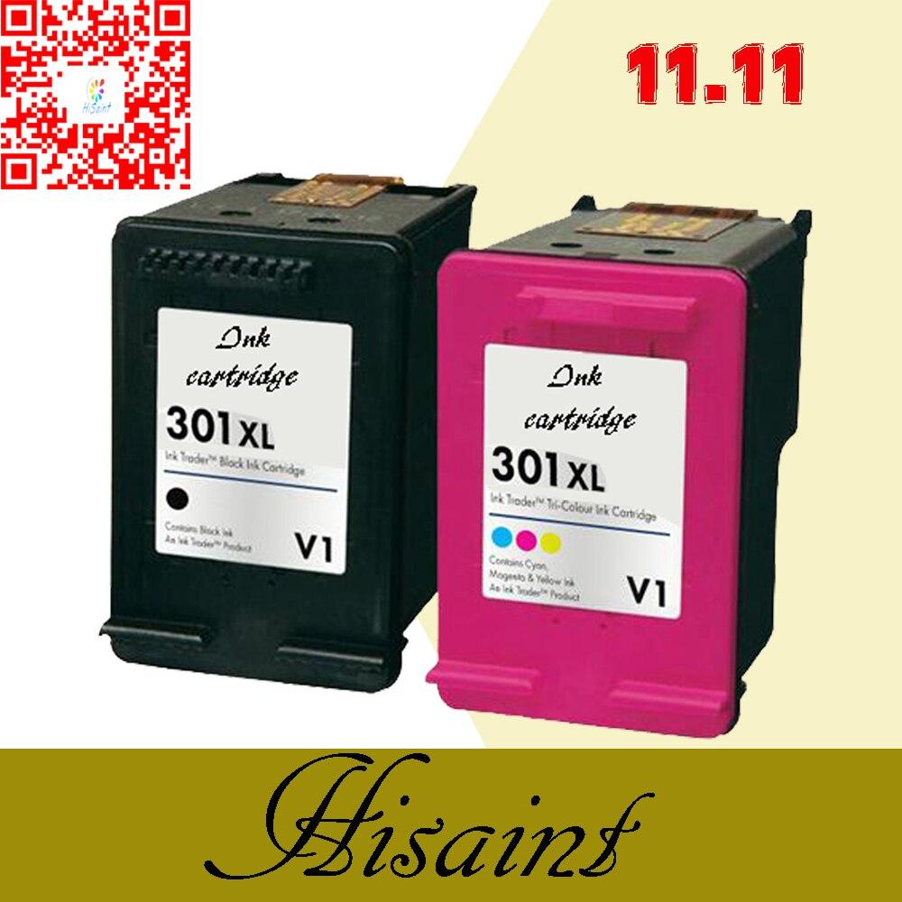 Caliente para hp301 cartucho de tinta para hp 301 xl para hp 301 cartuchos de tinta Deskjet 1000 1050 1051 1055 2000 2050 3000 3050 3051 impresora