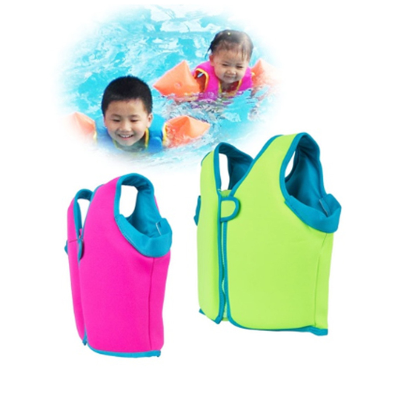 Kids Thicken Swimming Clothes Children's Swimwear Security Swimming Accessories Child Buoyancy Drifting Vest Baby Safety Float