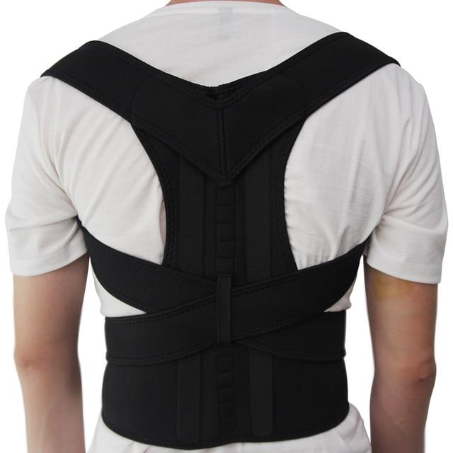 Aptoco Magnetic Therapy Posture Corrector Brace Shoulder Back Support Belt for Men Women Braces \u0026 Supports
