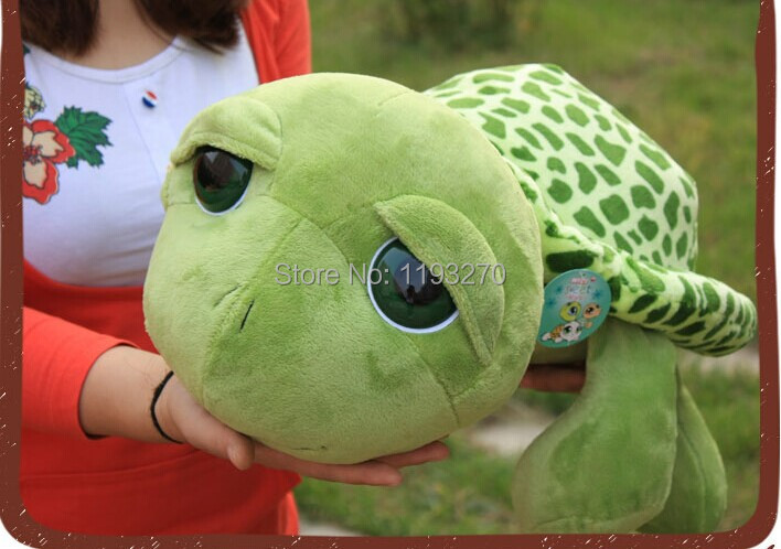 stuffed animal 45 cm turtle plush toy big eyes tortoise doll throw pillow w3482 stuffed animal 120 cm cute love rabbit plush toy pink or purple floral love rabbit soft doll gift w2226