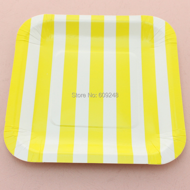 sc 1 st  AliExpress.com & Buy yellow square paper plates and get free shipping on AliExpress.com