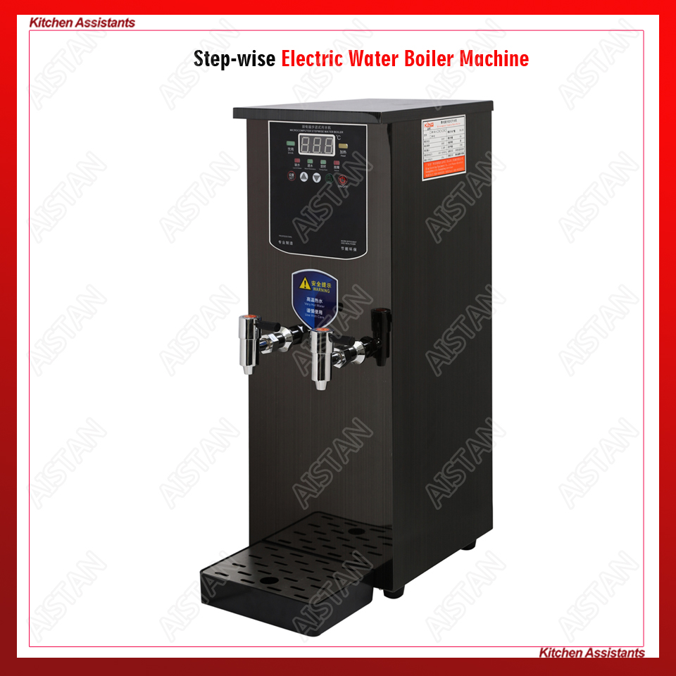 KW Série comercial de alta qualidade passo a passo elétrica caldeira de água