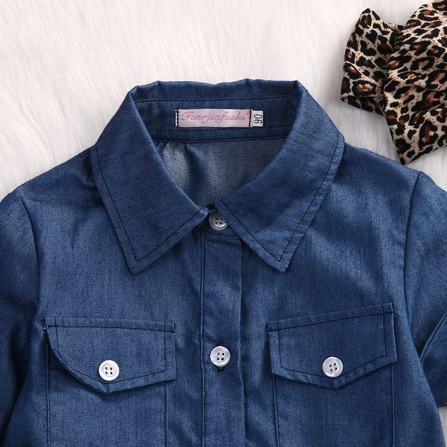 Conjunto top y falda de leopardo