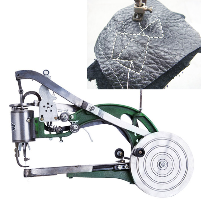 A Best Quality Manual Shoes Making Sewing Machine Hand Cranked Shoes Repair Machine For All Kinds Shoes 46*37cm