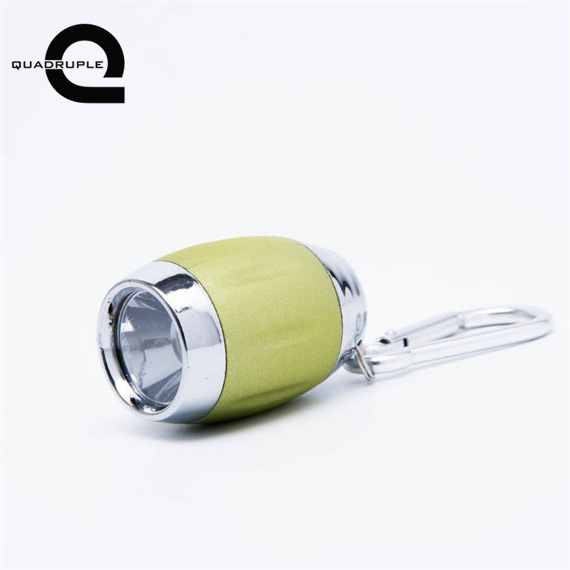 Quadruple Multifunction Mini COB LED Flashlight Keyring Portable Key Chain Light Handy Torch Light Camping Outdoor Reading Lamp
