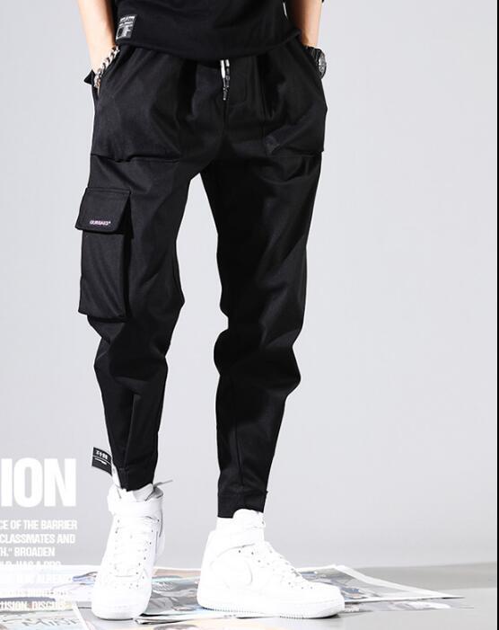 black A1 2019 gris Tamaño Hombres xxxl Black Los Plus Harén Moda Pantalones Suelta S Ropa Hombre Hip De Marea Hop Sección naranja Overoles C2 RBqaHxw