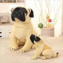 58cm Stuffed Plush Toys Kawaii Spuer Big Size Dog Kids Huge Real Life Animal Dolls High Good Quality Gifts Hot Sale
