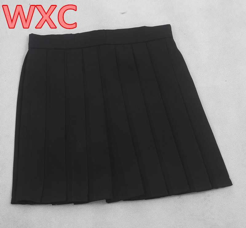 HTB1n0KXLXXXXXXzaXXXq6xXFXXX9 - Japanese High Waist Pleated Skirts Anime Cosplay School PTC 279