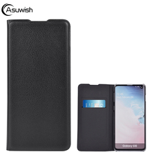 Flip Leather Wallet Case For Samsung Galaxy S10 5G Plus S10e S9 M20 M10 J4 J6 2018 A6 A7 A8 A10 A70 2019 M 10 20 J 6 A 7 8 Cover