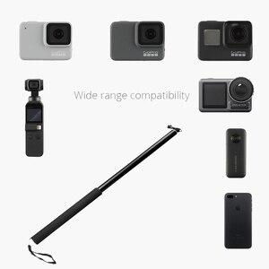 Image 4 - 3อลูมิเนียมอลูมิเนียมอลูมิเนียมMonopod Selfie StickสำหรับInsta360 One X/X2/DJI OSMO Action/กระเป๋า/gopro Hero 7 6 5กล้องSjcamอุปกรณ์เสริม