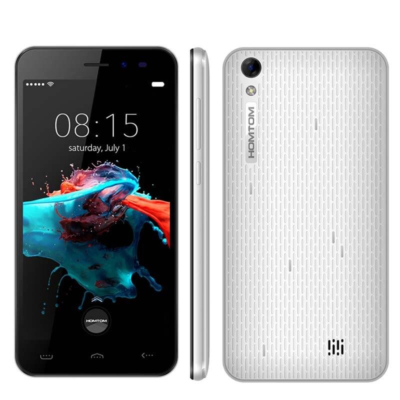 про doogee homtom ht16 смартфон 5.0 дюймов экран 1280x720 и IPS mtk6580 4 ядра с Android 6.0 мобильный телефон 1 гб оперативная память 8 гб встроенная память, 8-мегапиксельная камерой 3000 мач