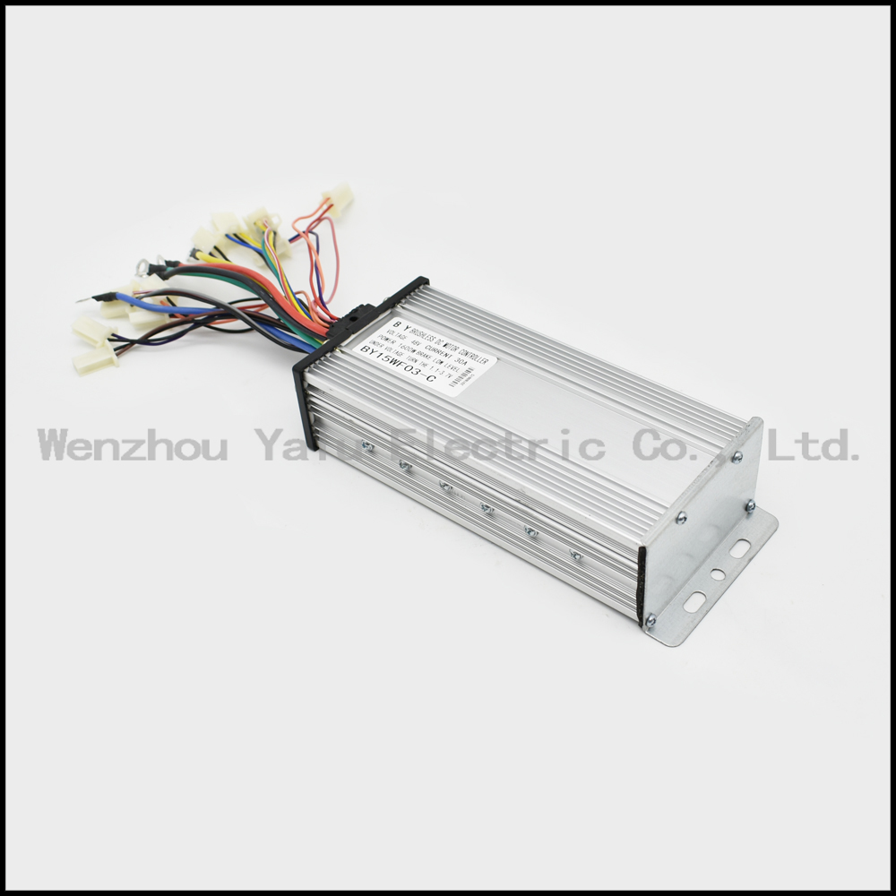 48V 60V 2000W 15 Power tube intelligent brushless controller for brushless DC motor with Holzer sensor