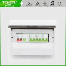 12 способов распределительная коробка потребительский блок 63A 2P УЗО автоматический выключатель защита пластиковая коробка 5 лет гарантии