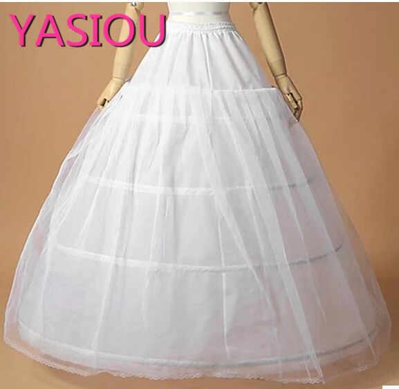 3 кольца большая Нижняя юбка для бального платья свадебное платье 2019 Новое FCrinoline Slip нижняя юбка для свадебного платья свадебное платье в наличии