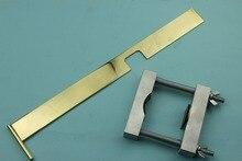 4/4 violin neck install clamp+fingerboard prolongation measurement Violin making tools