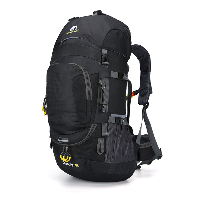 Outdoor Backpack Camping Bag 50/60l Men With Light Reflection Waterproof Travel Backpack Man Camping Hiking Bags Backpack Sports