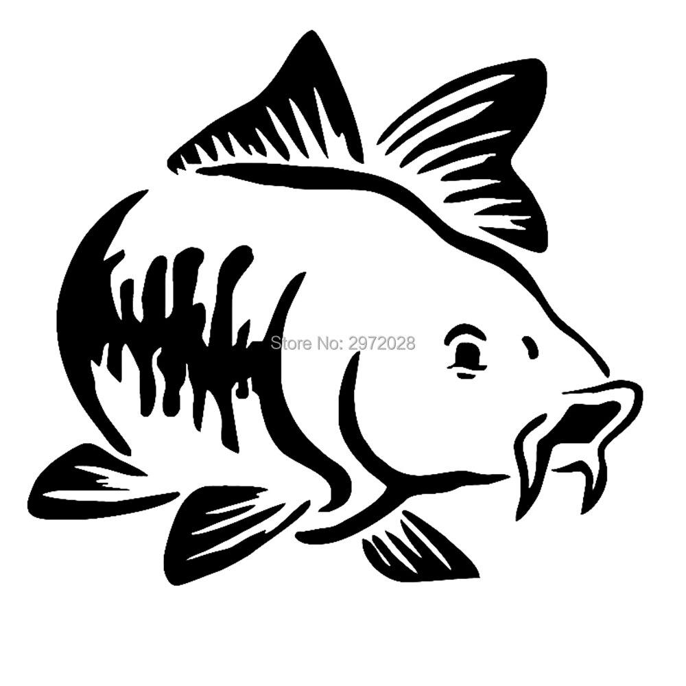 1 X LARGE ANGRY CATFISH   Sticker//Decal //Fishing//Angling//Carp