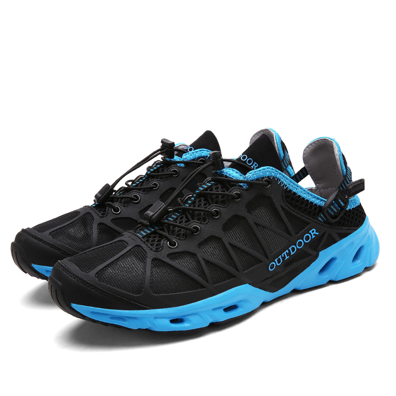 Men Hiking Shoes Summer Outdoor Sneakers Non-slip Amphibious Walking Foot Shaft Interference Water Shoes For Women