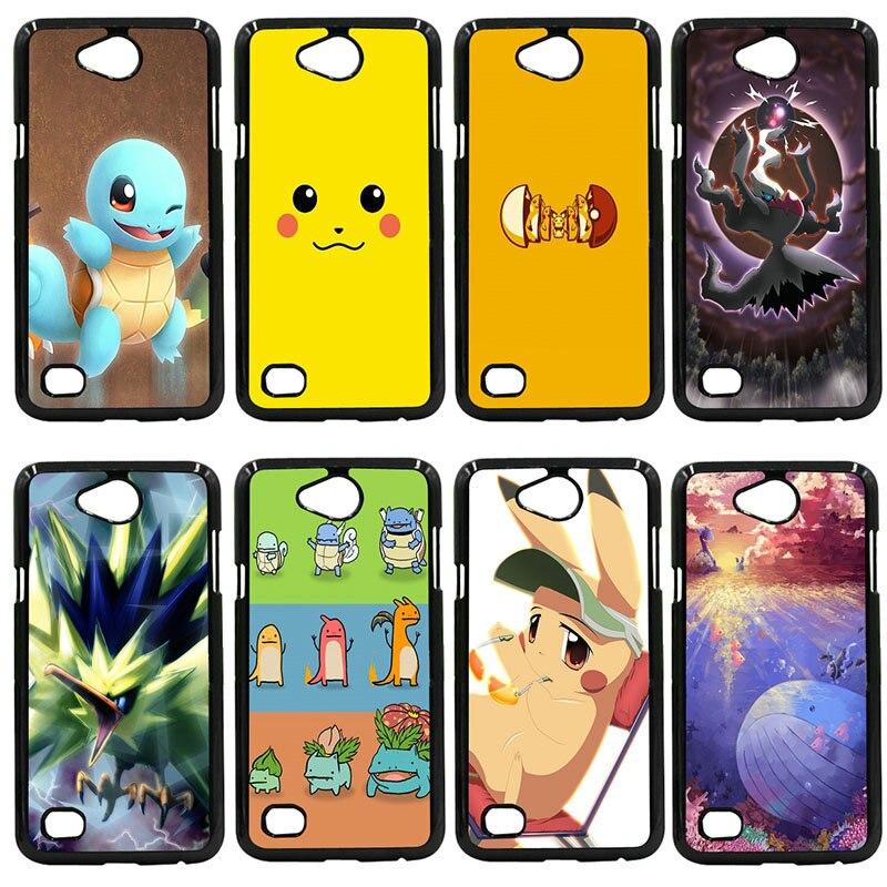 Cute Pokemons Pika Go Pokeball Animal Phone Cases Cover For LG L Prime G2 G4 G5 G6 G7 K4 K8 K10 V20 V30 Nexus 5 6 5X Pixel