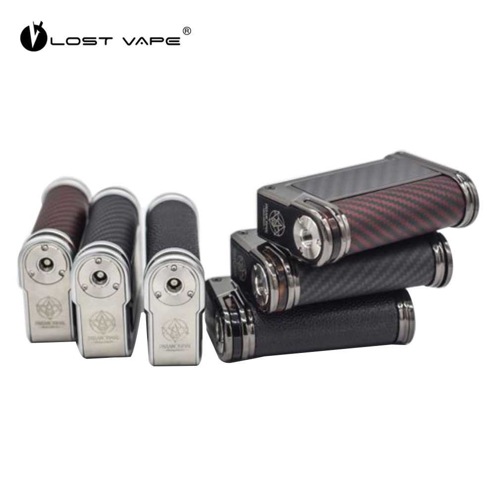 Original LOST VAPE Paranormal TC Box Mod 200W Output NO Battery DNA250C Chipset & 2 Frame Color 3 Side Inlay Option E-cig MOD