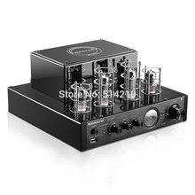 NEW black Nobsound MS-10D MKII Hifi 2.0 tube amplifier USB/Bluetooth amplifier Audio Amplifier 25W*2 TOP sale