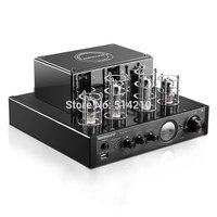 NEW black Nobsound MS 10D MKII Hifi 2.0 tube amplifier USB/Bluetooth amplifier Audio Amplifier 25W*2 TOP sale