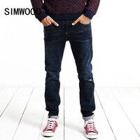 SIMWOOD 2016 New Autumn Winter Jeans Men Fashion Denim Pants Casual Trousers Length SJ6051