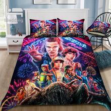 Hot Horror Movie Stranger-Things 3D Bedding Set Printed Duvet Cover Set Twin Full Queen King Size Dropshipping cheap iBedding None Duvet Cover Sets 100 Polyester 1 0m (3 3 feet) 1 2m (4 feet) 1 35m (4 5 feet) 1 5m (5 feet) 1 8m (6 feet)