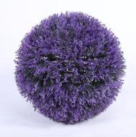 Diameter 28cm Artificial Plastic Purple Lavender Ball For Wedding Home Office Hotel Decoration