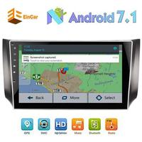Android 7.1 2Din Car pc in Dash Autoradio Stereo 3D GPS Navigation Headunit for Nissan none DVD Player support 3G/4G Wifi Mirror