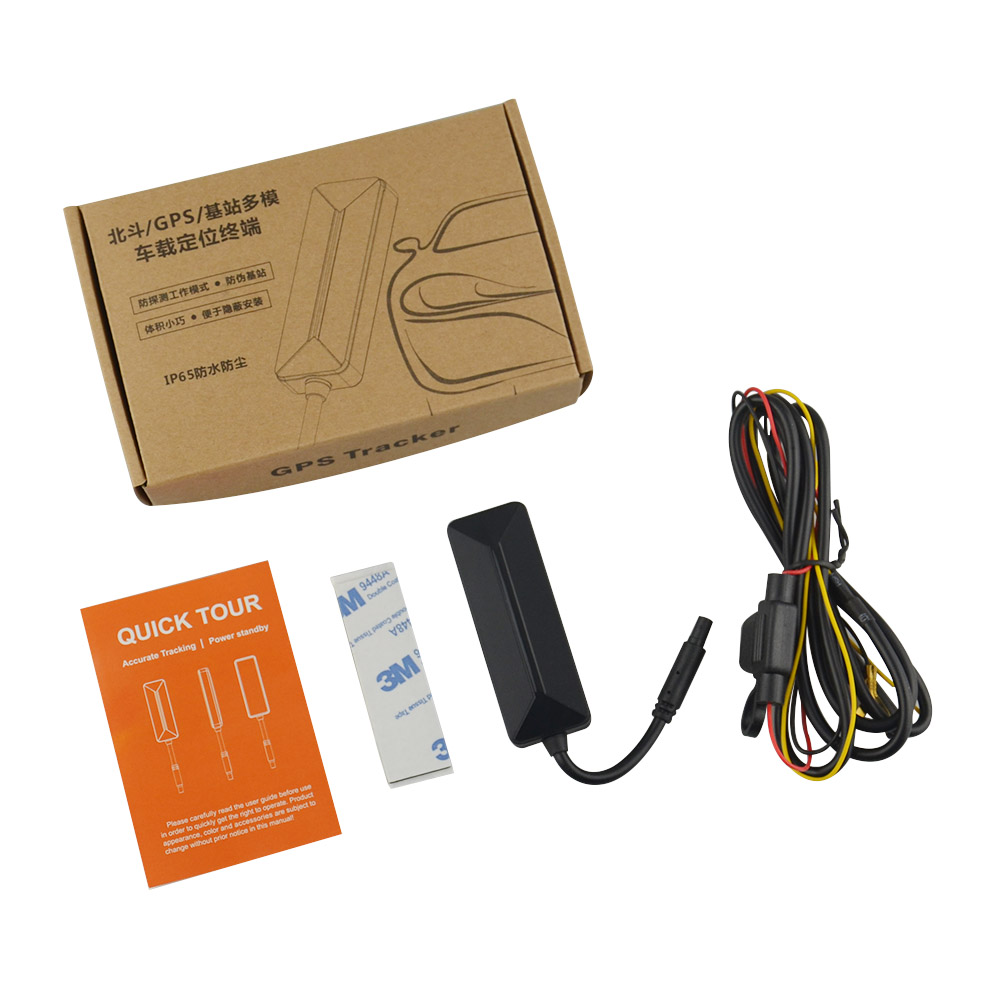 5pc GPS tracker LK710 For Vehicle Vibration alarm Relay Cut Off Oil Remotely With box
