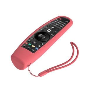 Image 5 - SIKAI Custodia In Silicone Per LG Smart AN MR600 Coperchio del Telecomando Per LG UN MR650 Per LG OLED TV Magico Telecomando AN MR18BA 19BA 20GA