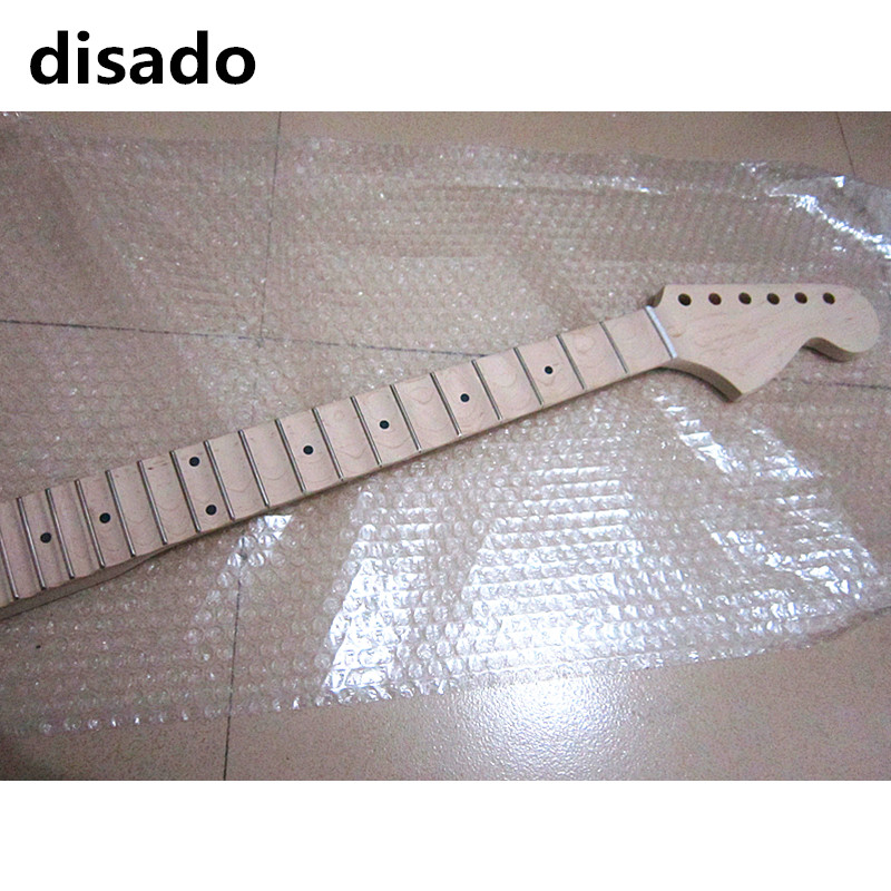 disado 21 22 frets big headstock Frets maple Electric Guitar Neck maple scallop fretboard no paint guitar accessories parts disado 21 22 24 frets big headstock maple electric guitar neck maple scallop fretboard glossy paint guitar parts accessories