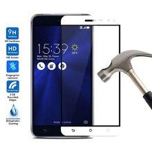 Pełna pokrywa szkło hartowane dla Asus ZenFone 3 Lite ZE520KL Z017D Z017DA Z017DB ochraniacz ekranu ZE520 KL ZE 520KL pełna folia do telefonu