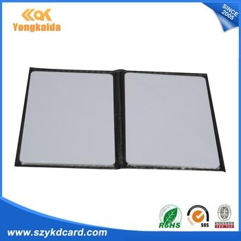 500pcs/lot RFID 125KHz EM4100 Thin White PVC ID Smart Card TK4100/EM4100 blank card rfid card rfid