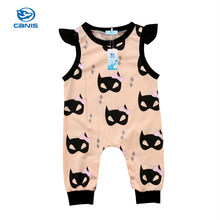 Cotton Baby Romper Newborn Baby Girl Boy Romper Clothes Batman Leggings Outfits Clothes One-Pieces Casual Children Clothing(China)