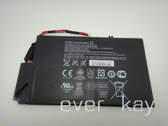 НОВЫЙ Оригинальный Аккумулятор EL04XL, HSTNN-IB3R/UB3R, ТПС-C102, 681879-1C1, 681879-171, 681879-541 для HP Envy TouchSmart 4-1000 X9-55