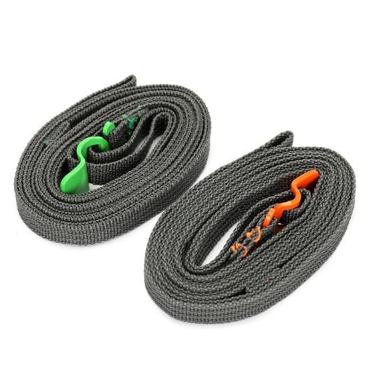 Походная веревка для кемпинга, прочный быстросъемный ремешок для багажа с крючком из нержавеющей стали, уличный инструмент