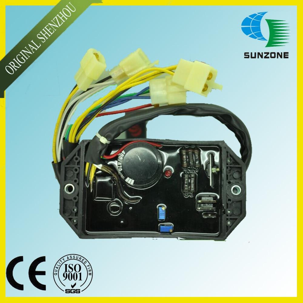 Generator Voltage Regulator KI-DAVR-50S3  KI DAVR 50S3  Diesel Generator AVR Free Shipping generator avr automatic voltage regulator davr 150s3