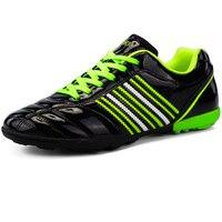 Weiche Leder Kinder Turnschuhe Schwarz Jungen Fußball Schuhe Stollen Kinder Fußball Schuhe Junge Trainer Schuhe Studenten Sport Schuhe Fuß