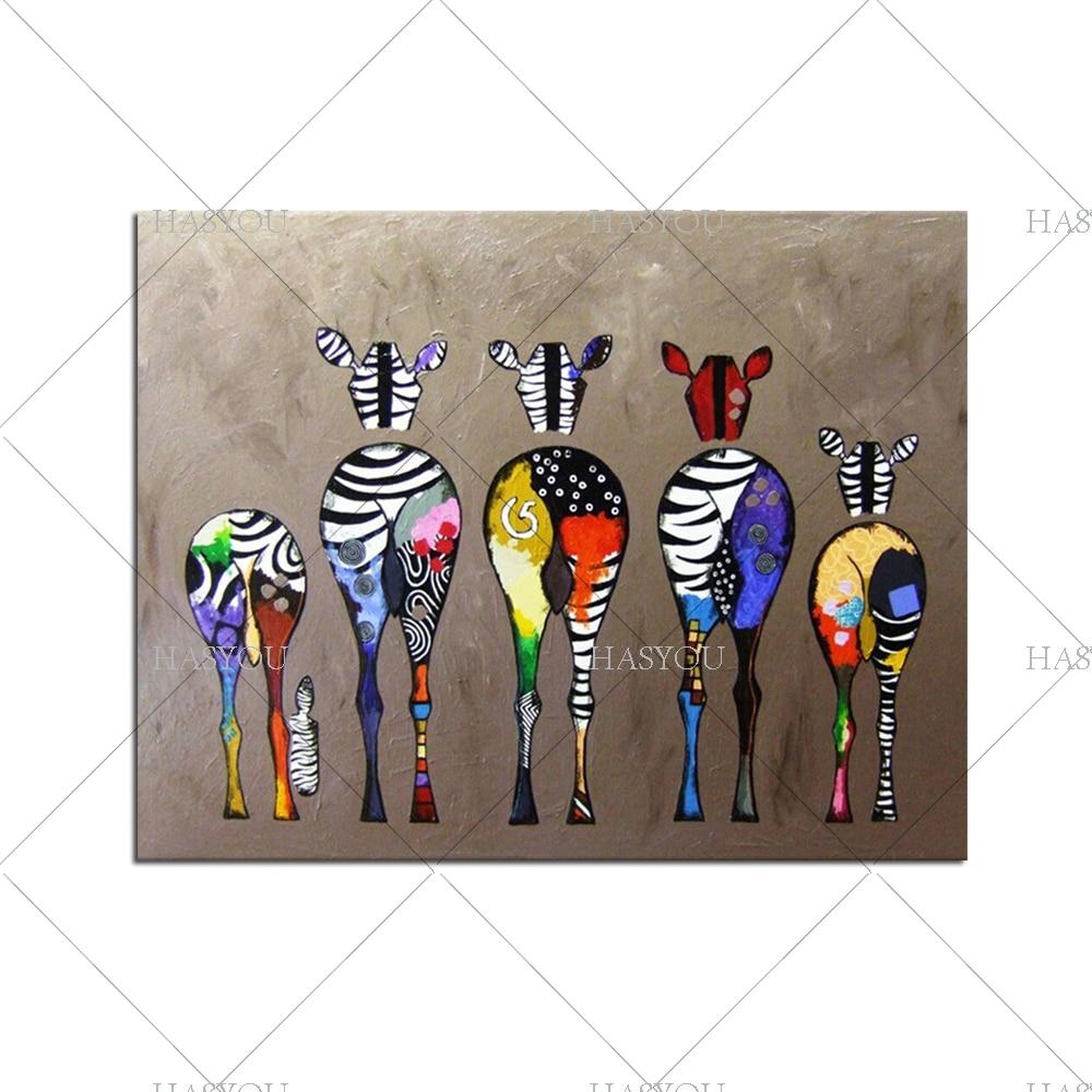 Abstract Canvas Wall Art Family