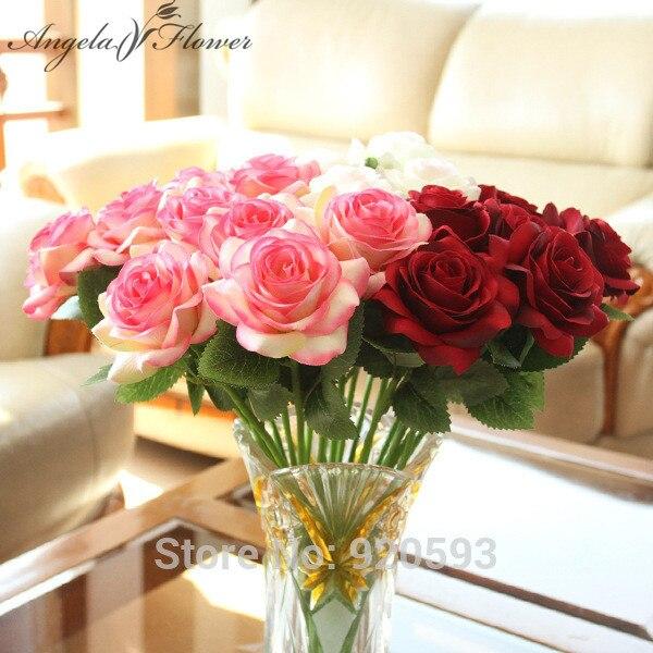 Haus & Garten Frank 30 Teile/los 38 Cm Rose Künstliche Blumen Silk Rose Blumen Hochzeit Dekoration Für Home Party Hotel Büro Garten Tisch Accessiores Eleganter Auftritt Künstliche Und Getrocknete Blumen