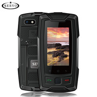 SERVO X7 Plus 2.45 mini Smartphone LTE IP68 Waterproof Rugged Mobile Phone MTK6737 RAM 2GB ROM 16GB Fingerprint NFC GPS Walkie