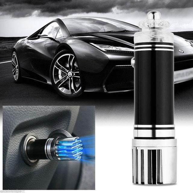 New Mini Auto Car Home Fresh Air Ionic Purifier Oxygen Bar Ozone Ionizer Cleaner