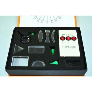 Image 4 - Yeni Fiziksel Optik Deney Seti Üçgen Prizma Lazer Işıkları Dışbükey Içbükey Mercek Seti Bilim Ekipmanları Çocuk Hediye Oyuncak