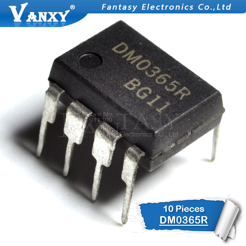10PCS DM0365R DIP8 DM0365 DIP 365R DIP-8 New And Original IC