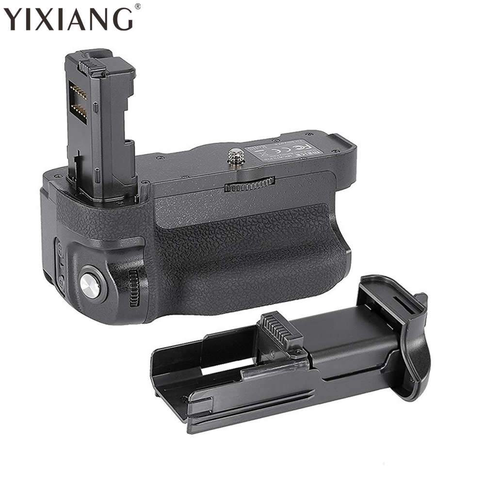 YIXIANG BG-A7II Vertical Battery Grip for Sony A7 mark II as Sony VG-C2EM pixel vertax e16 for canon 7d mark ii 7d2 battery grip bg e16 high quality 2 years warranty