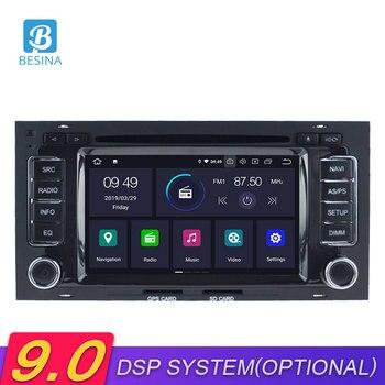 Besina Android 9.0 Car DVD Player For VW Touareg Multivan T5 2002-2010 GPS Navigation Multimedia Autoaudio Stereo 2Din Car Radio