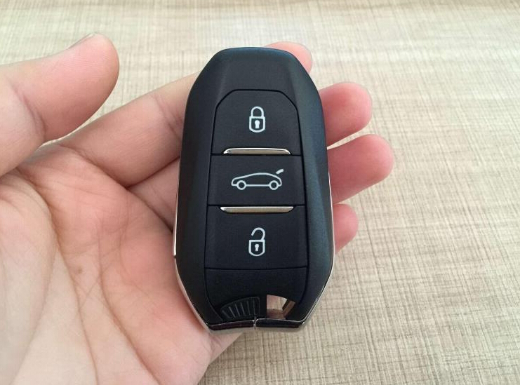 Original 3 Buttons Smart Remote Key For Citroen C4L With ID46 Chip 434Mhz Car Alarm Keyless Entry Fob brand new high quality remote key renault megane smart card 3 button with insert small key blade 434mhz id46 chip