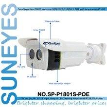 SunEyes ONVIF Full HD 1080 P SP-P1801S-POE POE IP-КАМЕРА Открытый Водонепроницаемая Камера с Micro SD Слот Бесплатный P2P ПРИЛОЖЕНИЯ Для Смартфона